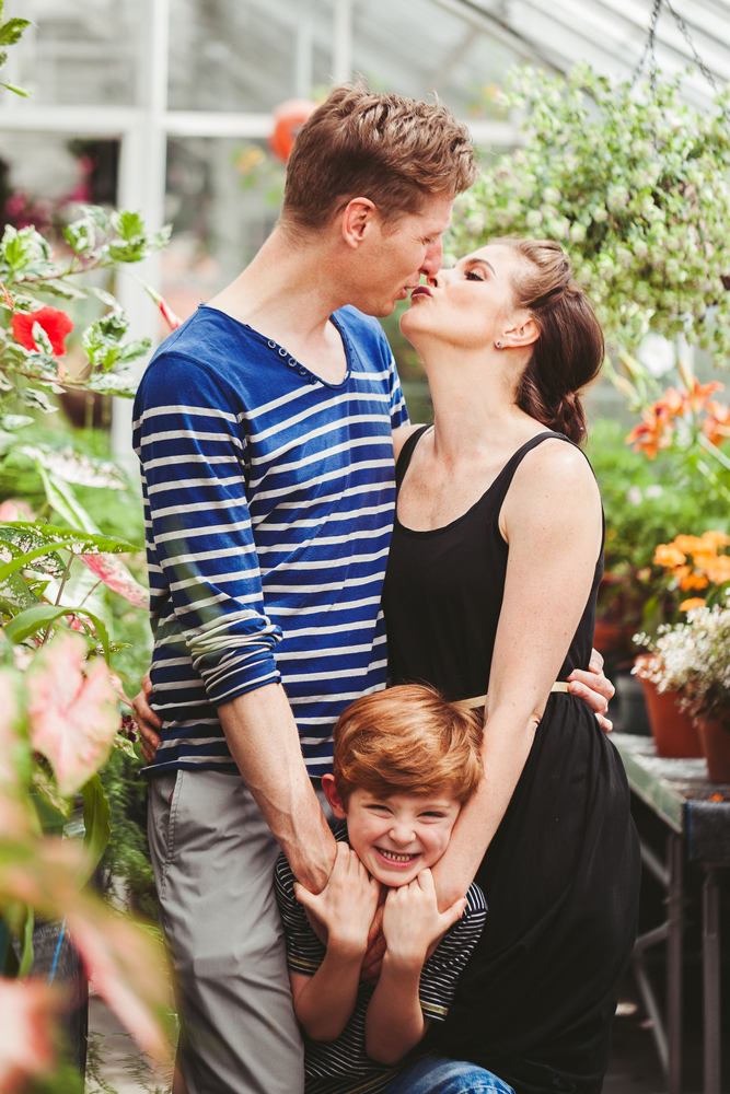 Westmount Greenhouse Engagement And Family Session Opustill