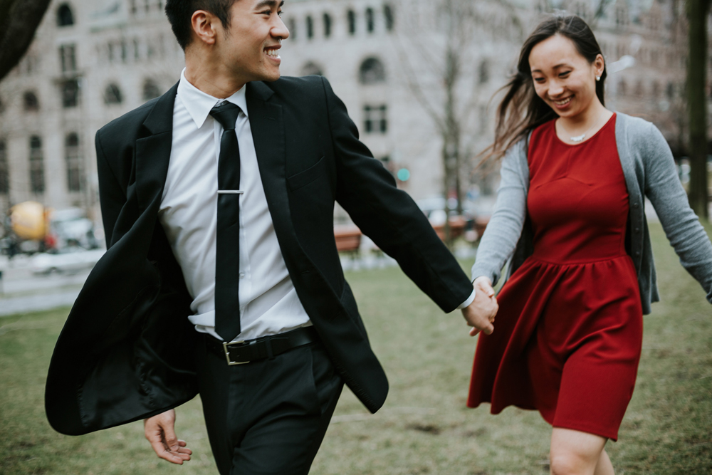 Montreal Engagement Photography