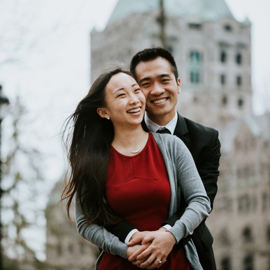 Montreal Secret Proposal and Engagement Photography